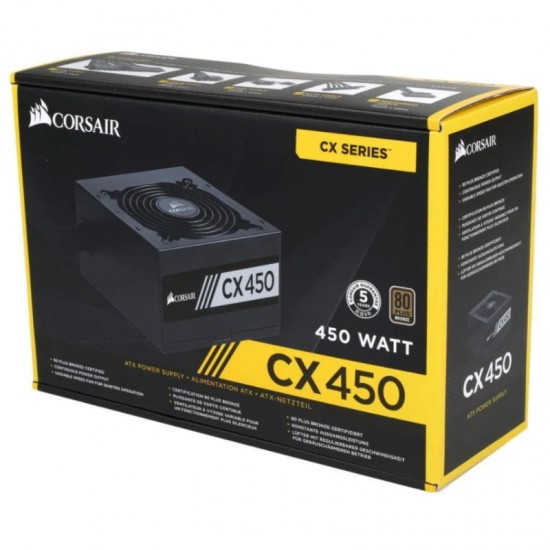 Блок питания Corsair CX 450W 80 Plus [CP-9020120-EU]