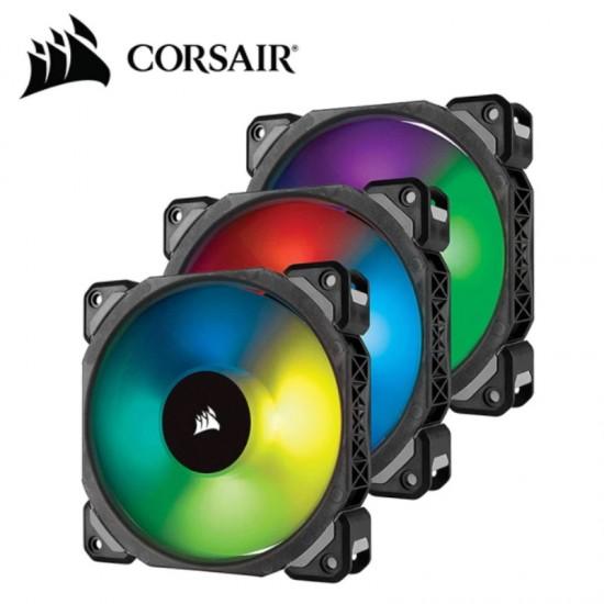 Комплект 3-x вентиляторов Corsair ML120 Pro RGB LED [CO-9050076-WW]