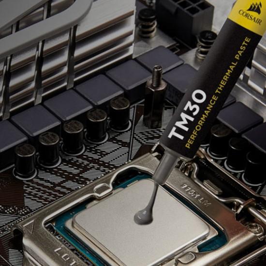 Термопаста Corsair TM30 performance в удобном шприце емкостью 3 г.